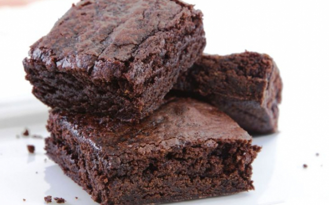 Brownies με 2 υλικά